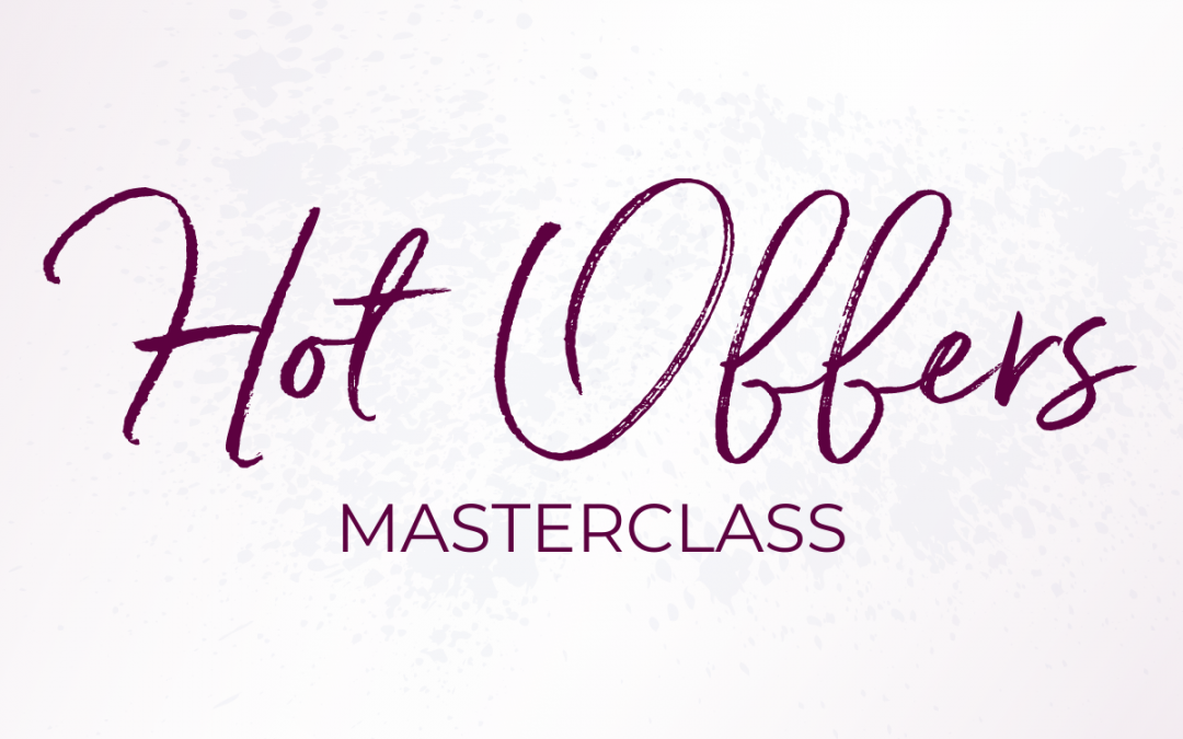 Create Offers That SELL (Free Masterclass)